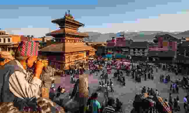 Durbar Square in Bhaktapur (Shutterstock)