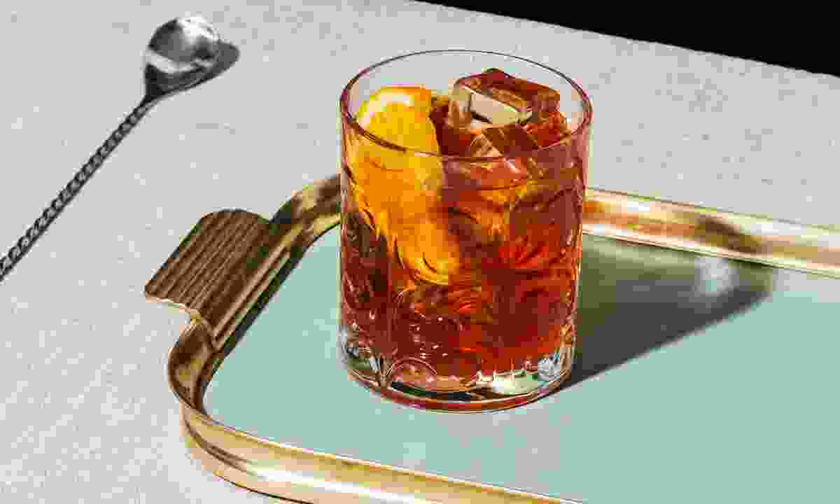 A Negroni. Simple. Sophisticated (Shutterstock)
