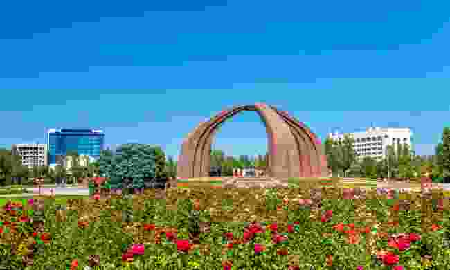 The Monument of Victory in Bishkek (Shutterstock)