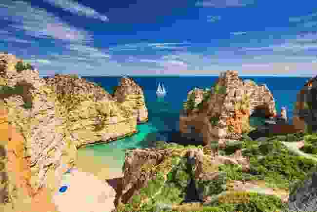 A bay near Lagos town, Algarve (Shutterstock)
