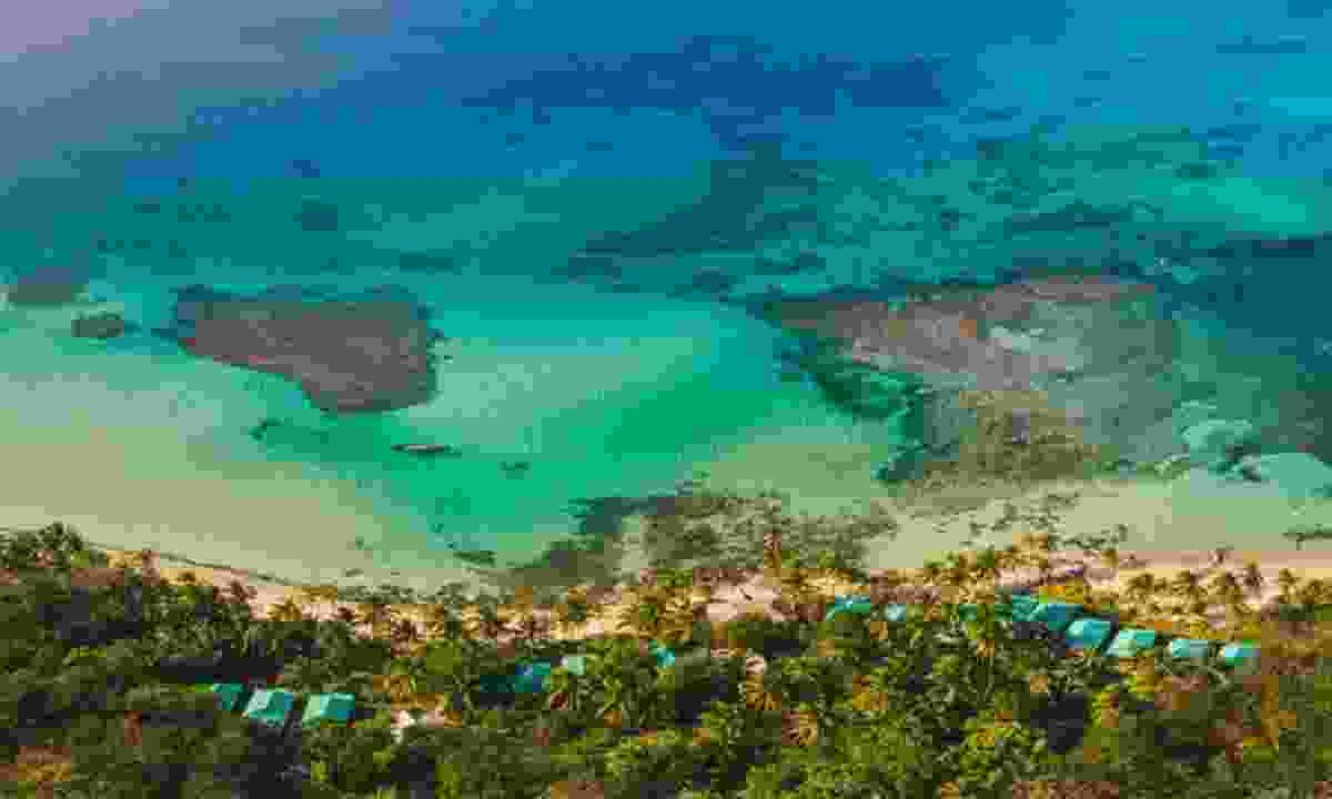 Ocean front Yemana Island Hideaway  (Yemaya Little Corn)