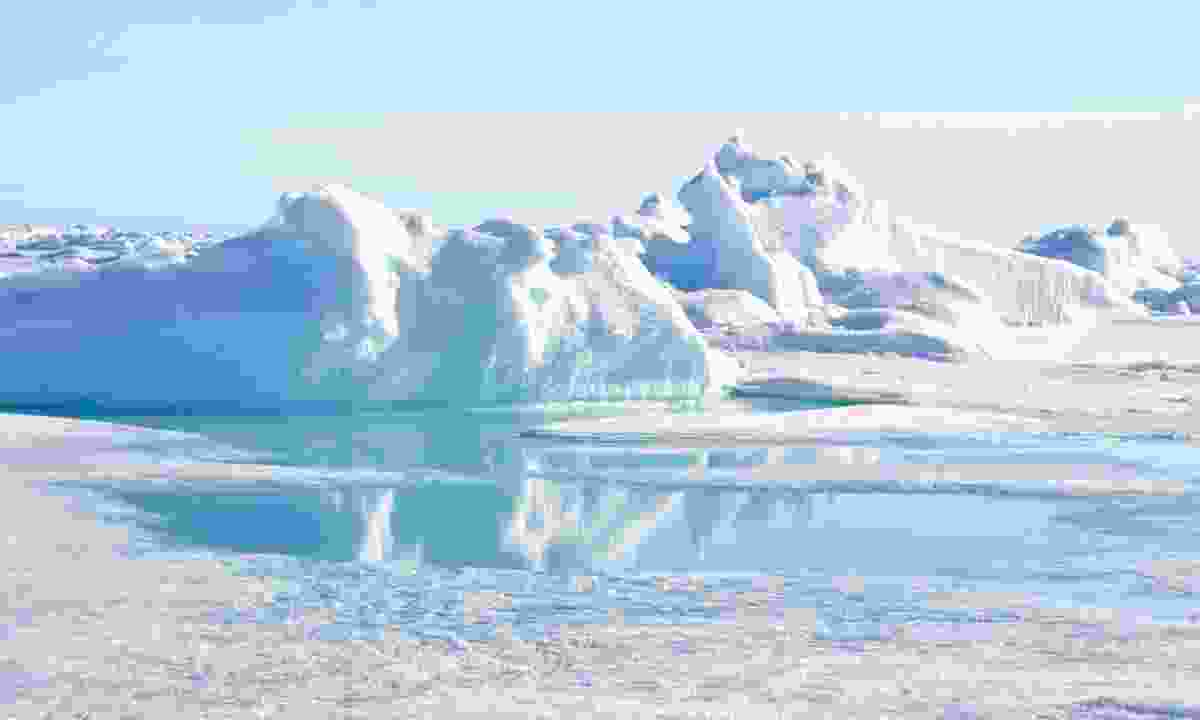 White washout in the North Pole