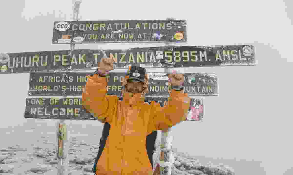 Summit of Mt Kilimanjaro (Dreamstime)