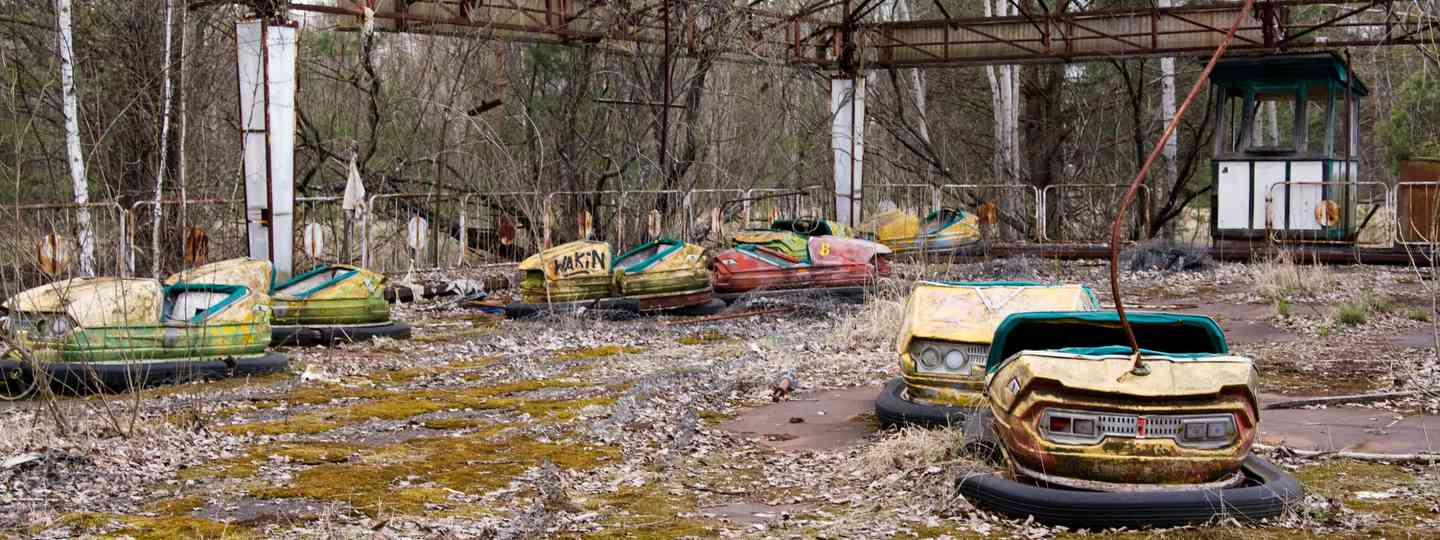 Abandoned fairground in Pripyat (Dreamstime)
