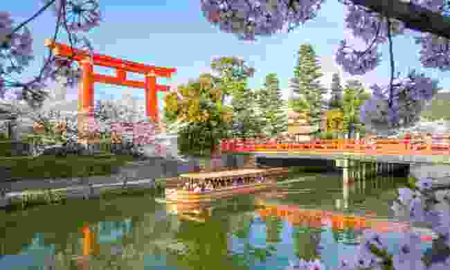 Okazaki canal, Japan (Dreamstime)