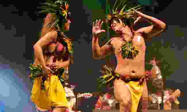 Dancers from Haiti perform at Rainforest World Music Festival in Borneo (Dreamstime)