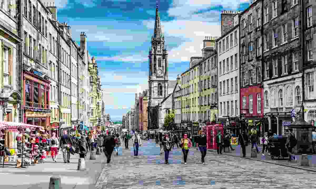 Royal Mile, Edinburgh (Dreamstime)