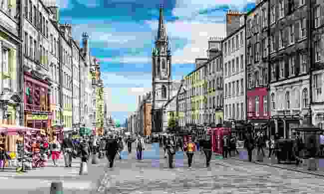 Royal Mile, Edinburgh (Dreamstime)