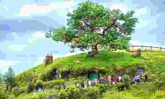 Hobbiton in Matamata (Shutterstock)