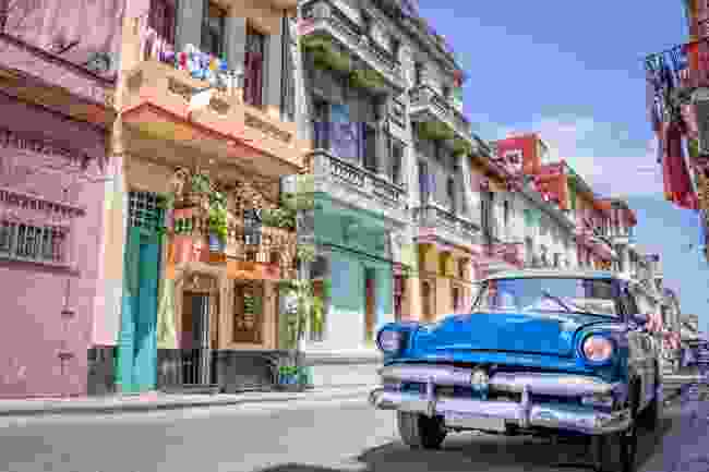 The classic 'Disneyland' view of Havana (Shutterstock)