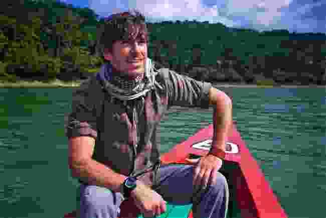 On Usumancita River between Mexico and Guatemala (BBC/Jonathan Young)