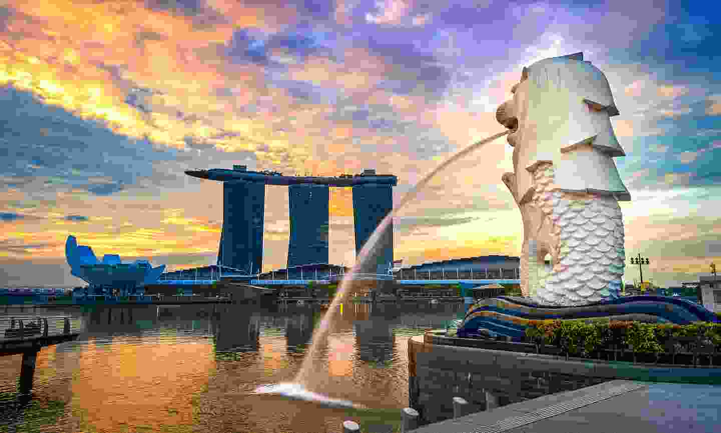 One of the most magnificent views in all of Singapore (Shutterstock)