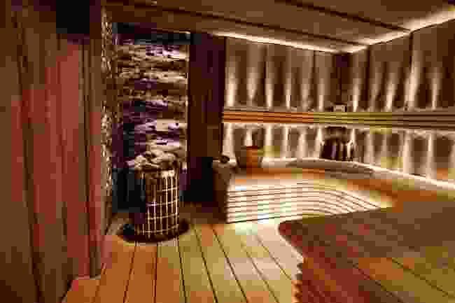 A traditional wooden sauna in Finland (Shutterstock)