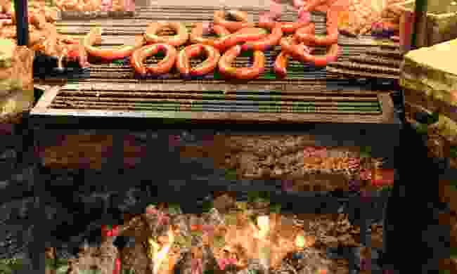A BBQ pit in Texas (Shutterstock)