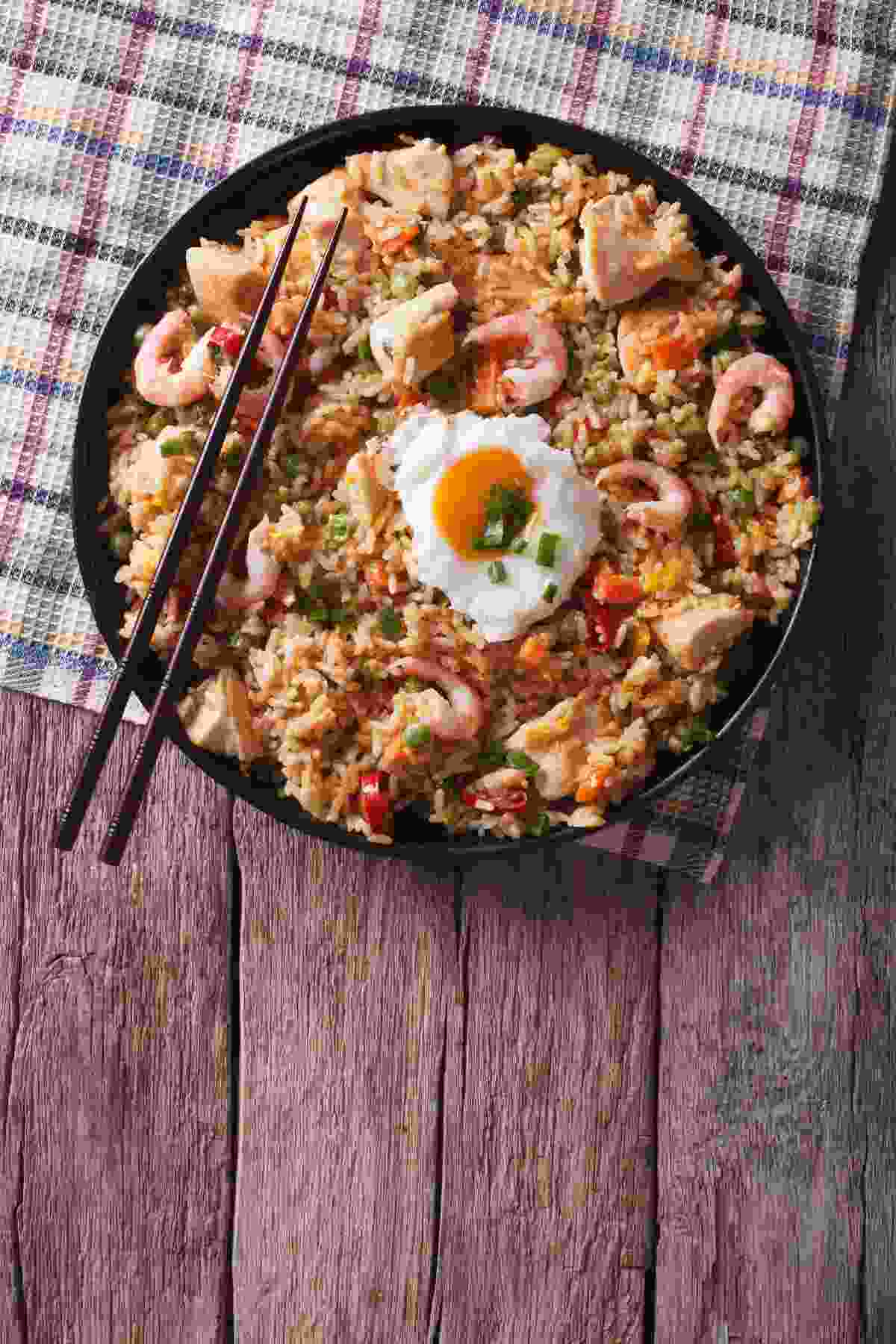 Try a tasty nasi goreng when in the Guyanas (Shutterstock)