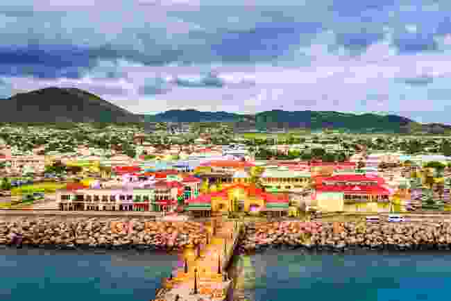 St Kitts and Nevis is planning to allow vaccinated travellers to visit from 29 May (Shutterstock)