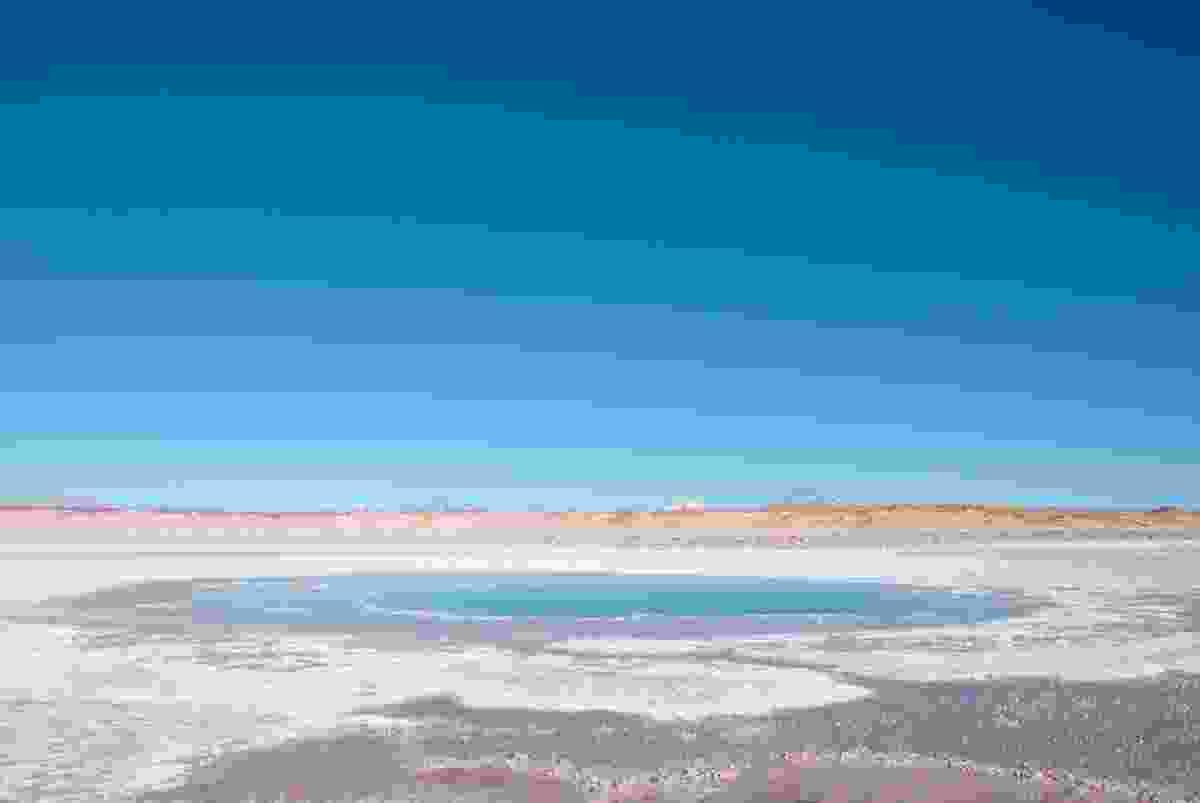 The small salt-water lakes of Ojos del Mar hide a secret (Lyn Hughes)