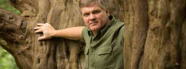 Ray Mears in the woodland (David Osborn)