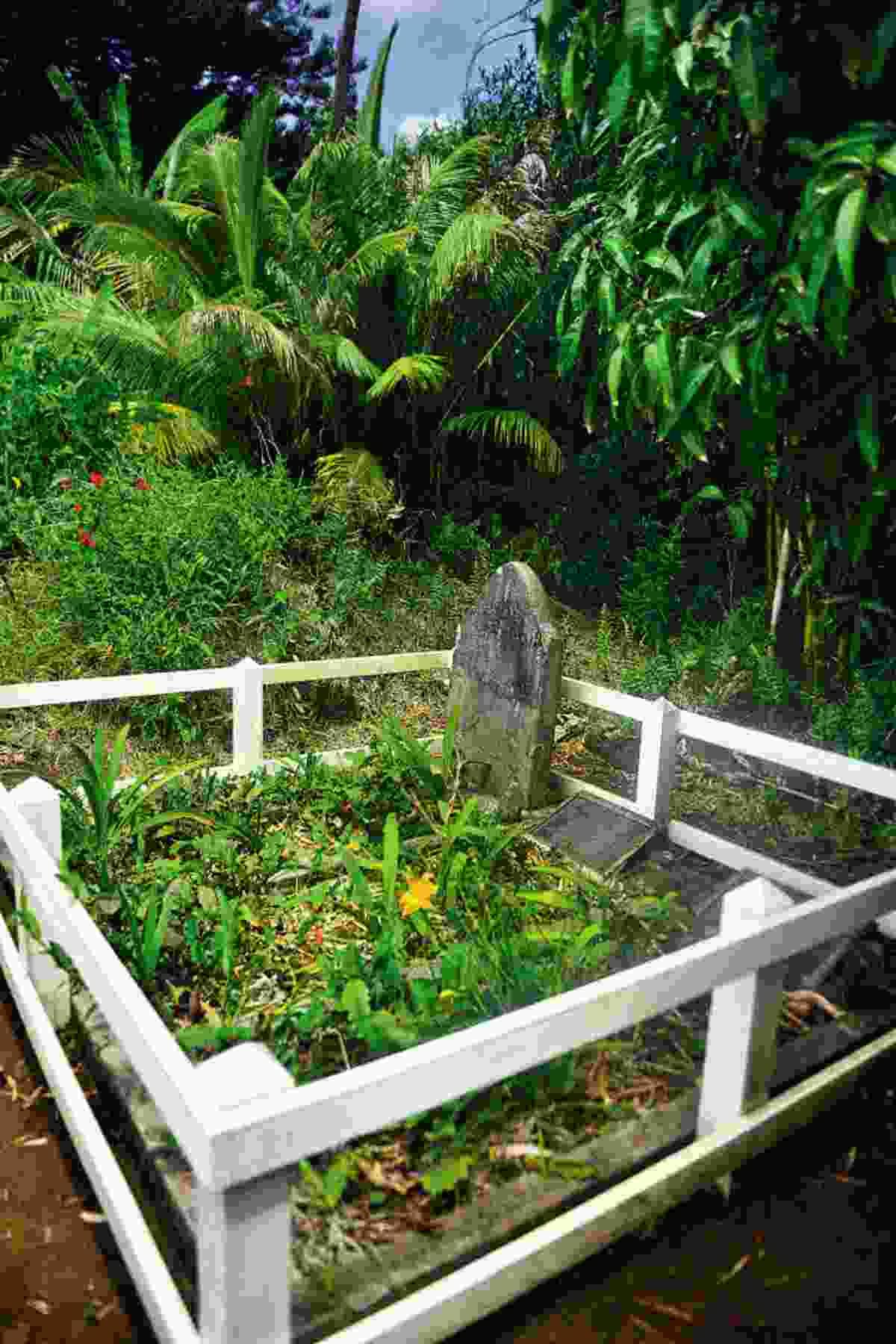 The grave of John Adams (Mark Stratton)