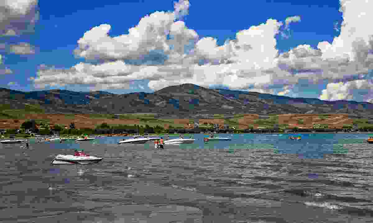 Enjoy water sports at Bear Lake (Utah Office of Tourism)