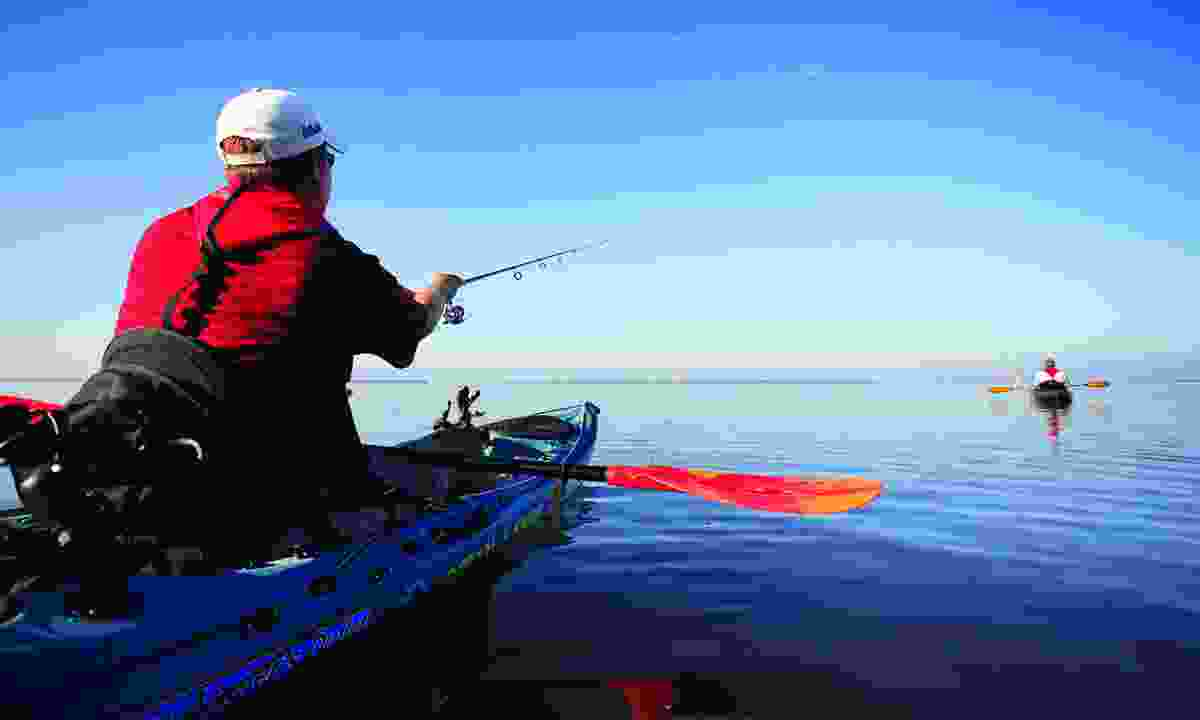 Try your hand at sport fishing