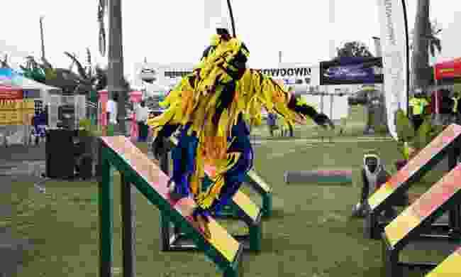 Barbados Ninja Throwdown (Visit Barbados)