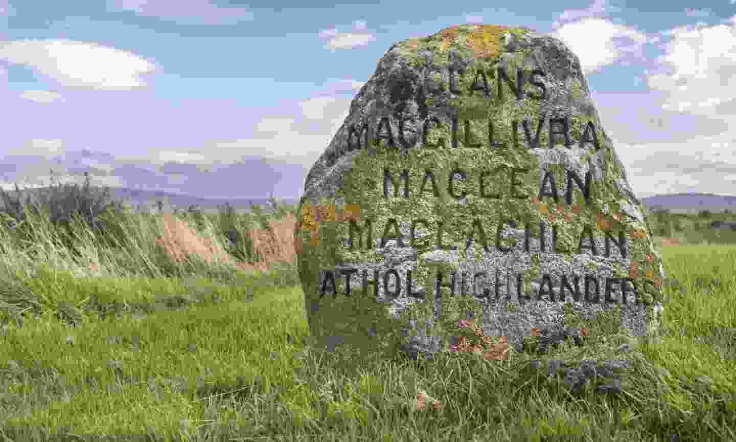 Clan Graves at the Battlefield site on Culloden Moor (Dreamstime)