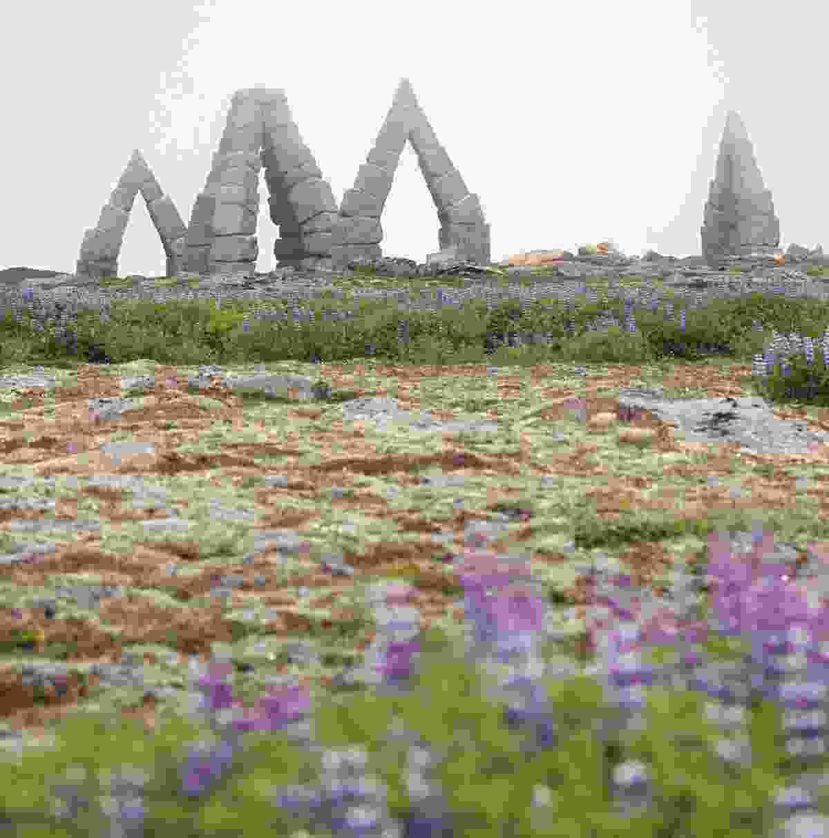 The Arctic Henge, Raufarhöfn (Kai Oidtmann)