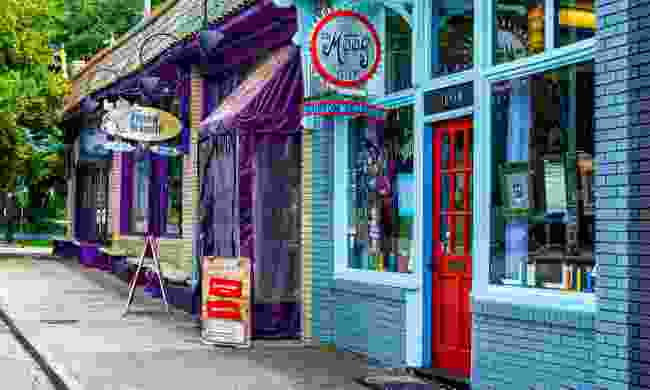 Colourful shops in Candler Park (Shutterstock)