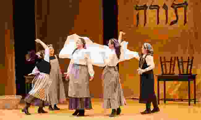 Fiddler on the Roof performed in Yiddish in New York (Shutterstock)