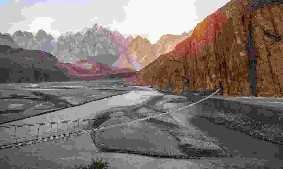 Hunza River in northern Pakistan (Shutterstock)