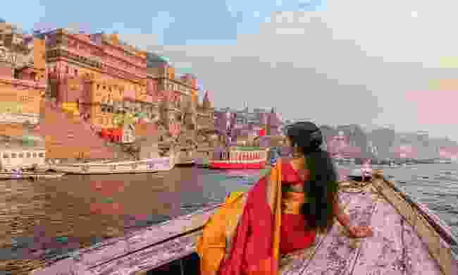 Contemplating Varanasi (Shutterstock)