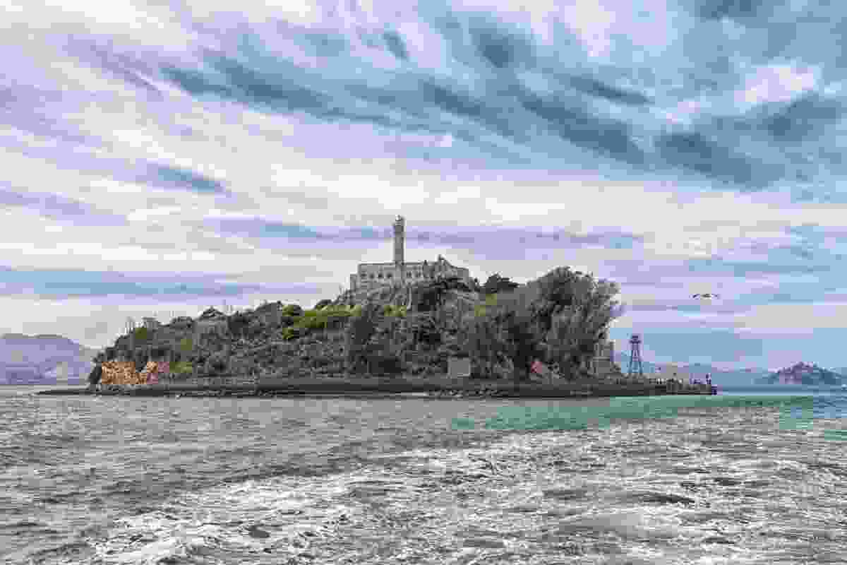 Alcatraz Island from the shores of California (Dreamstime)