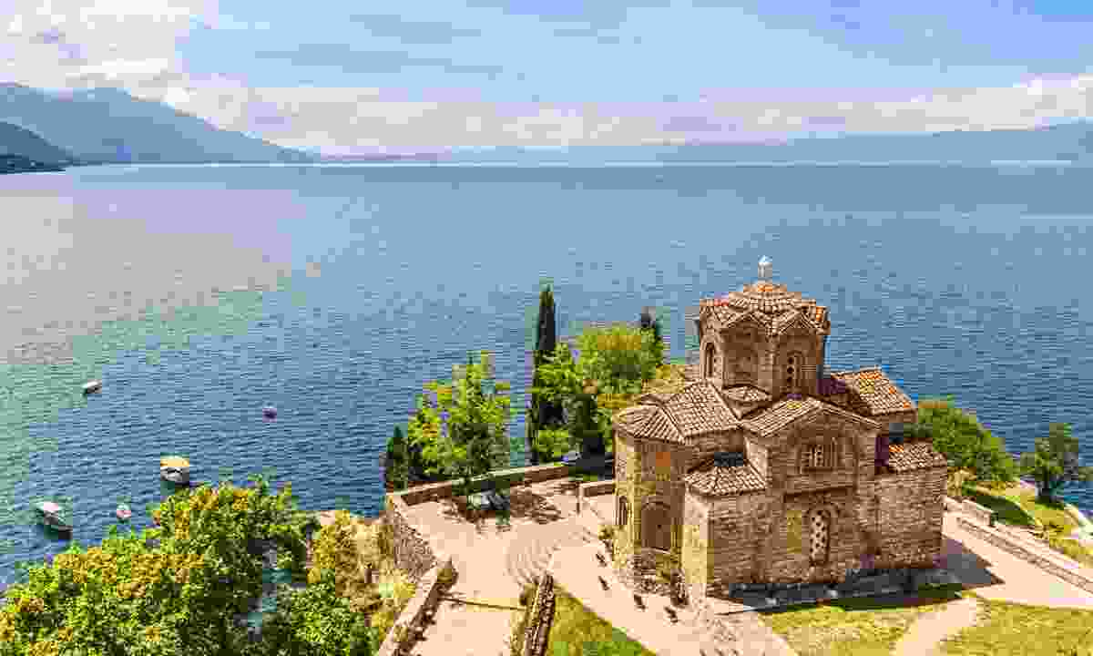 Lake Ohrid in Macedonia – Lyn Hughes' secret lake of choice (Dreamstime)