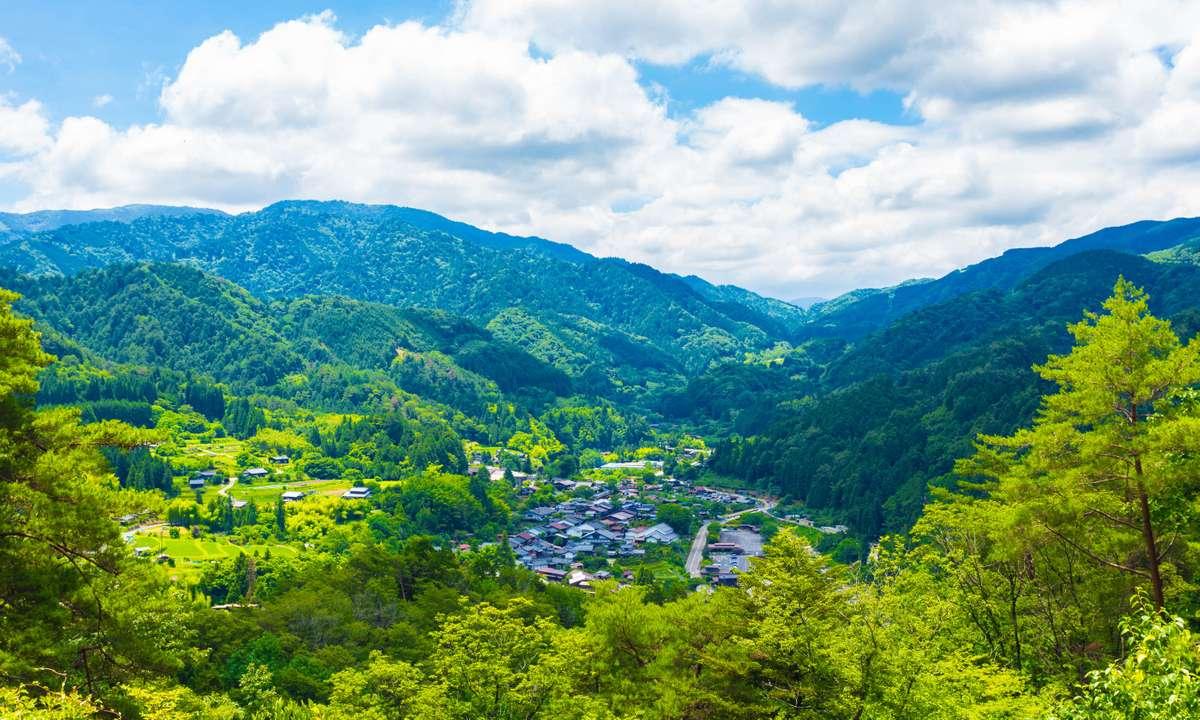 Tsumago viewpoint (Dreamstime)
