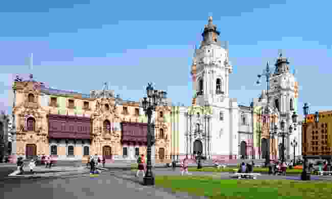 The Basillica Cathedral of Lima, Peru (Dreamstime)