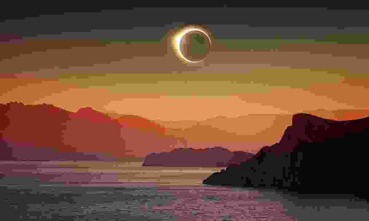 A total eclipse (Dreamstime)