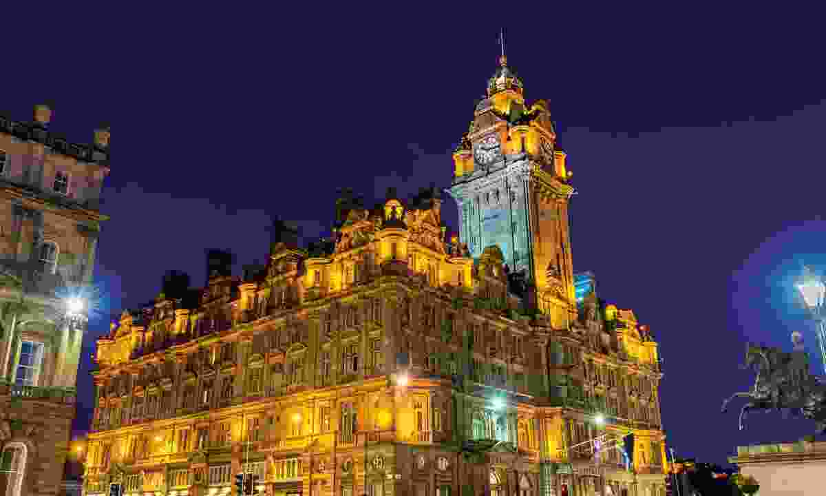 The Balmoral hotel (Dreamstime)