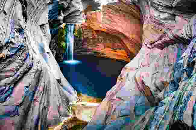 Is Hamersley Gorge in Karijini National Park really a 'hidden' gem? (Shutterstock)