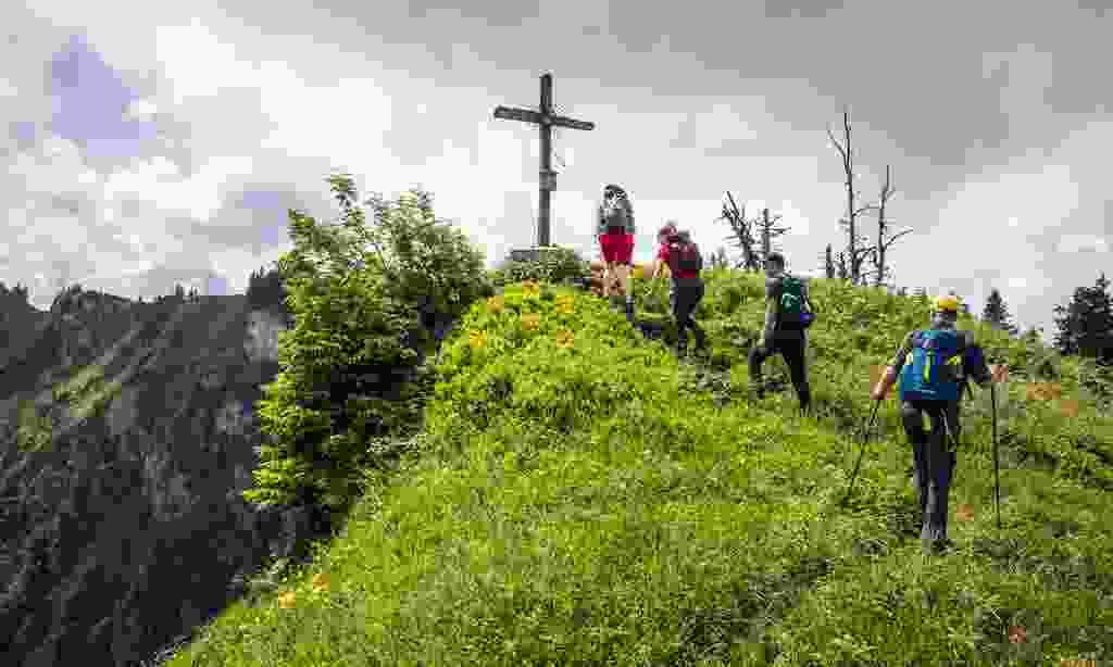 Hiking in Ruhpolding (Ruhpolding Tourismus)