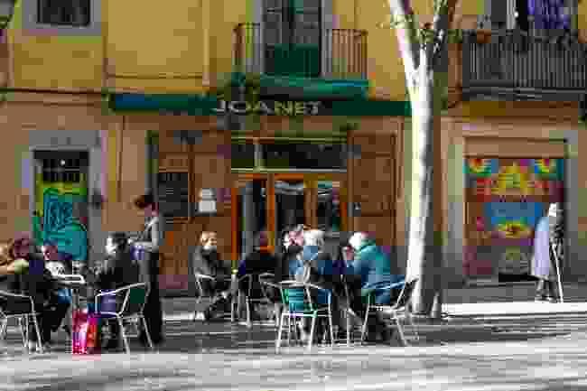 Joanet on Plaça Sant Agustí Vell, Barcelona (Shutterstock)