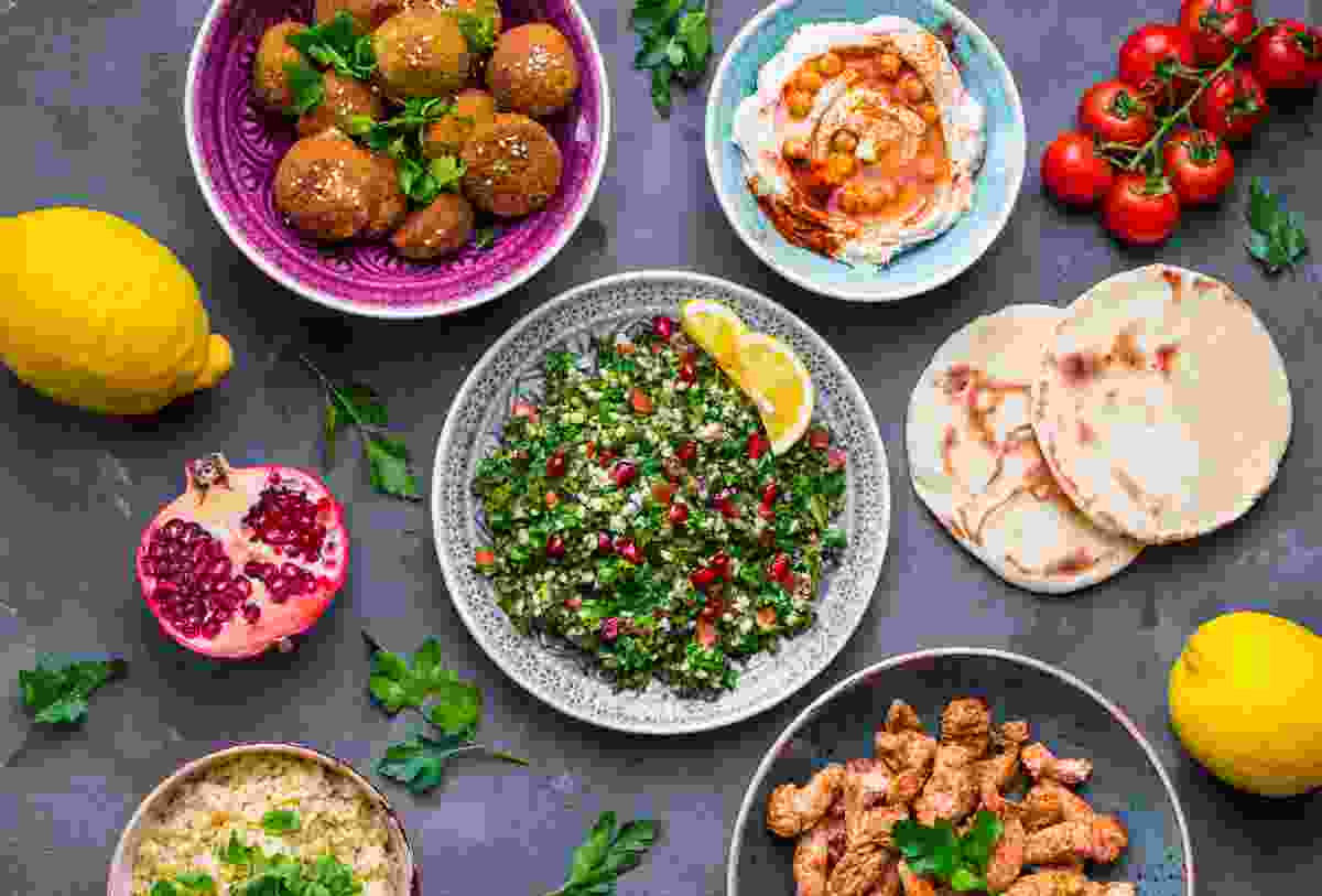 The 'picky' element of mezze makes it easier for vegetarians to eat with non-veggie travel companions (Shutterstock)