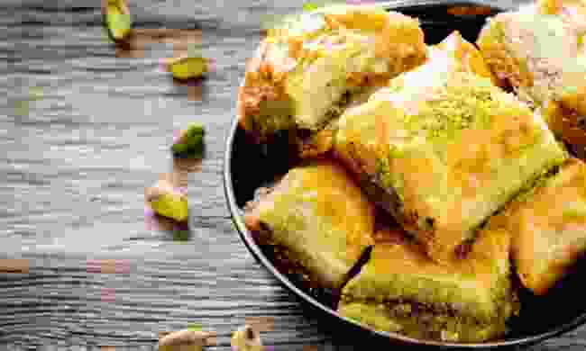 Turkish Baklava recipe, from the Sweet Middle East cookbook (Shutterstock)