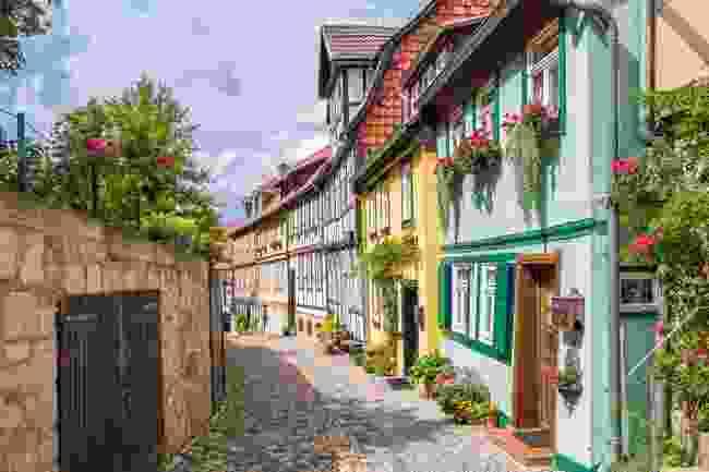 Quedlinburg Germany (Shutterstock)