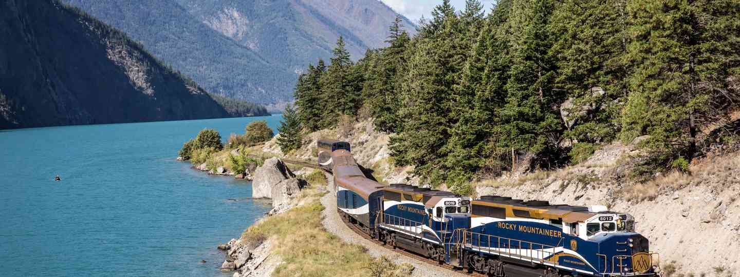 Canada train (Rocky Mountaineer & Australian Pacific Touring)