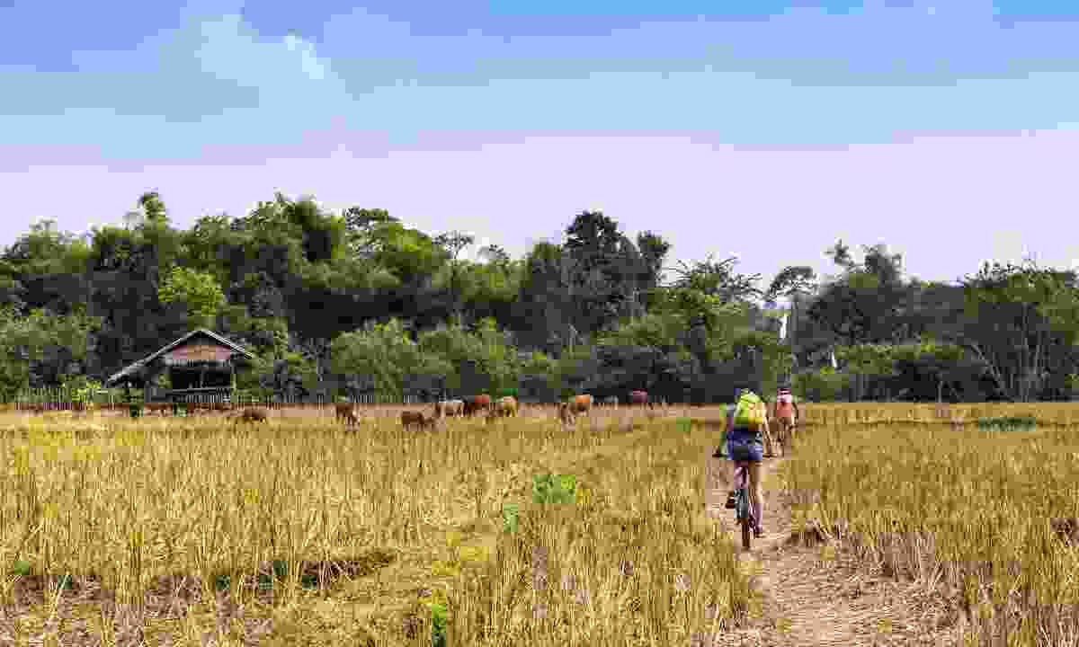 Turn your journey into a memorable piece of art, like making a video of a cycle trip across Asia (Shutterstock)