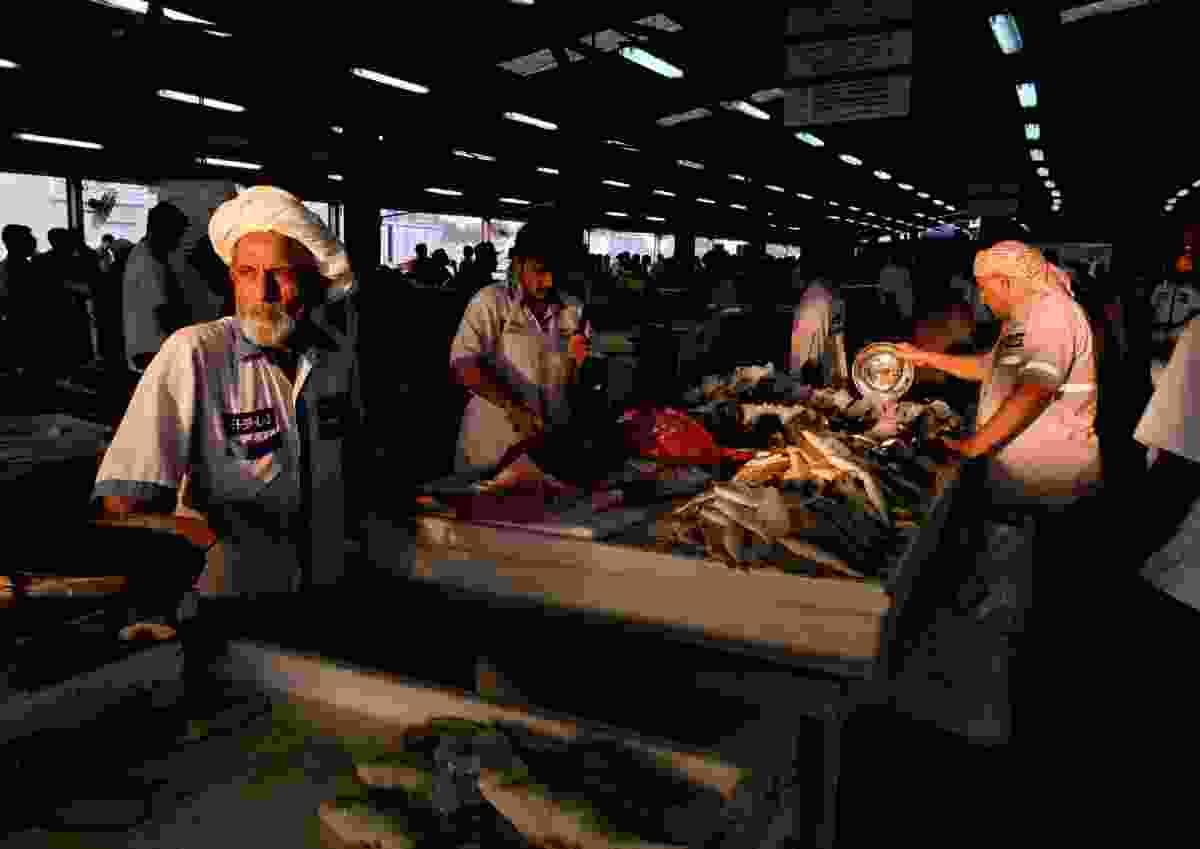 Fishmonger in Dubai, UAE (Sreeranj Sreedhar)