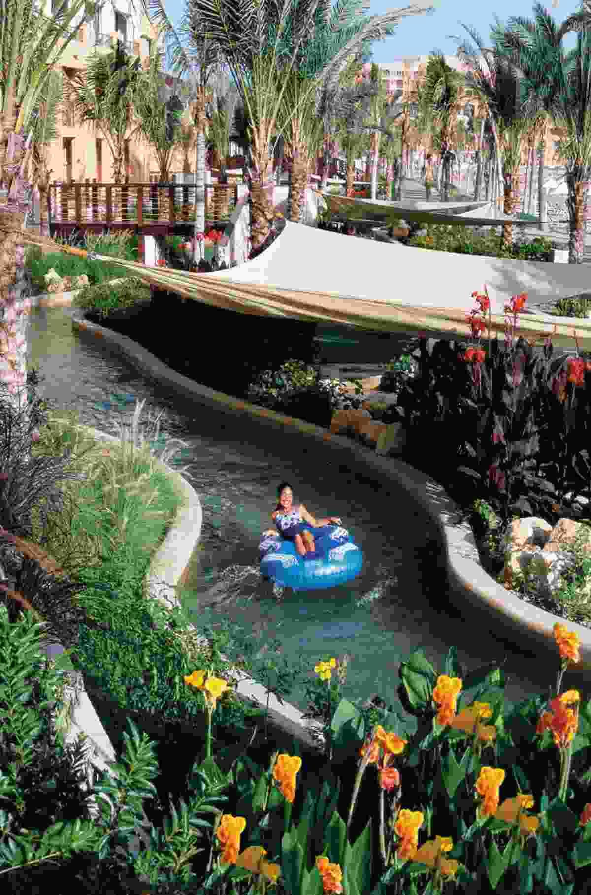 Al Waha Hotel lazy river (Shangri-La)
