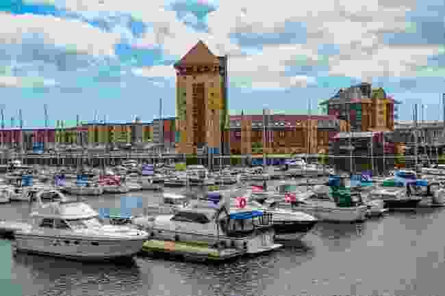 Swansea Marina (David Hughes/Shutterstock)