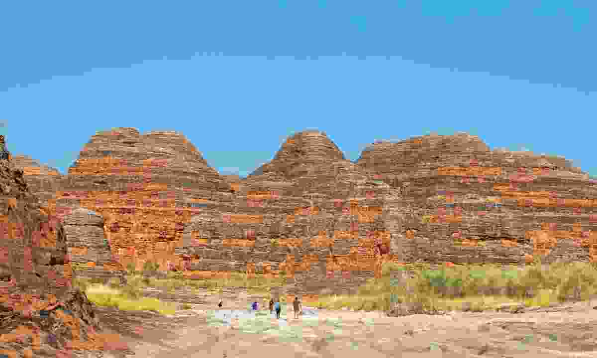 The striped domes of the Bungle Bungles (Phoebe Smith)